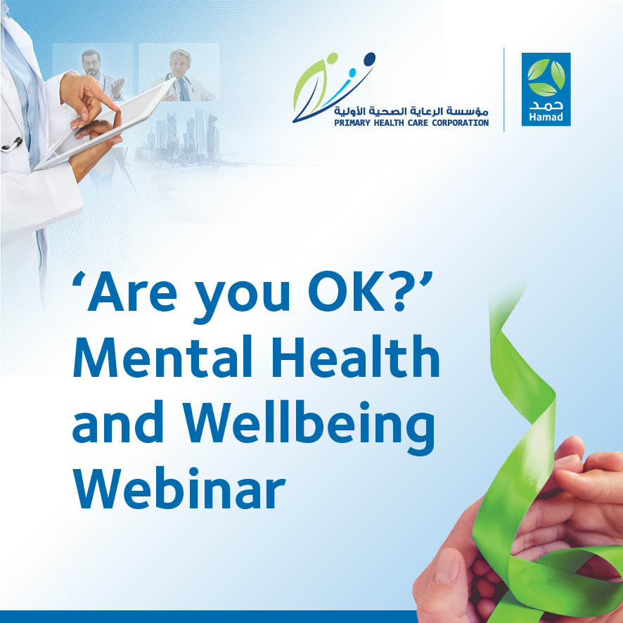 'Are you OK?' Mental Health and Wellbeing Webinar