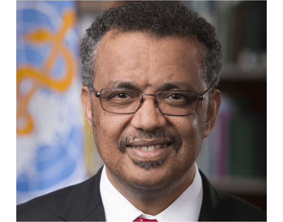 WHO's Dr. Tedros Adhanom to Address Current Pandemic at WISH 2020