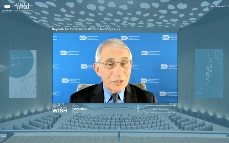 "Dr. Anthony Fauci: ""Pandemic Will End with a Vaccine and Public Health Measures"""